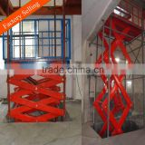 500kg warehouse fixed electric scissor lift table