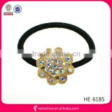 Good quality rhinestone handmade hair tie for Christmas present