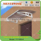 Euro-design durable door aluminum awning material size 1000x1400mm