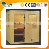 Far infrared wooden sauna room for sauna spa shower                                                                         Quality Choice