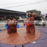 2015 hot funny foam padded sumo wrestling suits