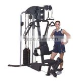 hammer strength gym equipment with 110LBS / 50kgs Dead Weight Stacks filled concrete vinyl plates