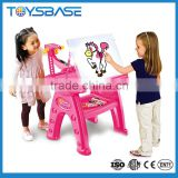 Projector kids learning table drawing desk