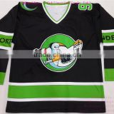 100% polyester sublimated tackle twill reversible pro roller ice Custom Hockey Jerseys