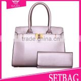 Newest style fashion womens 2 pcs set bags hand bags & purses designer high quality handbags