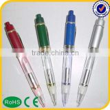 Novelty Multi-function promotional ball pen with string