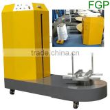 High quality airport luggage stretch film wrapping machine
