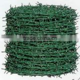 PVC coated barbed wire fencing wholesale