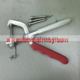 car flip key tool pin remover jig parts for all kinds of flip car key remover locksmith tool