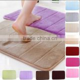 50x80cm Bathroom Anti Slip Carpet / Memory Foam Mat / memory foam door mat