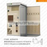 sliding showroom display racks stands for ceramic tiles granite tiles and marble stone samples CT039