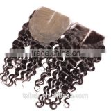 Cheap 7a Grade 100% Unprocessed Natural Color Virgin Remy Brazilian Hair Silk Base Lace Closure
