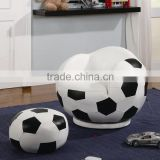 2016 New style ball shape living room bean bag portable soccer chairs