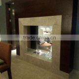 Decorative 304 Stainless Steel Ethanol Burning Fireplaces with practical purpose of heating in cold seasons