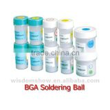 Hot selling!!0.25mm/0.3mm/0.35mm/0.4mm/0.45mm/0.5mm/0.55mm/0.6mm/0.65mm/0.76mm Leaded and lead-free BGA Solder Ball
