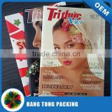 custom fashion cloth magazine printing in China