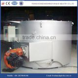 Natural gas fired aluminum melting furnace