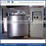 Electric scrap aluminum alloy melting furnace for carting machine
