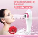 Hair beauty steamer natural water moisturizing beauty devices portable facial steamer vaporizer nano mist