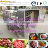 Factory Price Frozen Mutton Dicing Machine Cold Meat Cube Cutting Machine Meat Strip Cutting Machine