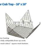 wholesale folding fishing wire mesh Star Crab traps