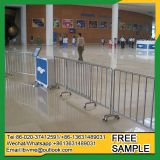 Hot dipped galvanized steel fence for crowd control