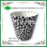 Wholesale newly fabric hotel waste basket with pattern