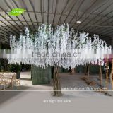GNW 13ft white large artificial decorative tree with wisteria flower for wedding event decoration