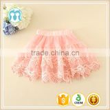 girls on-sale skirts lace trims baby hot sale skirts good quality pink black mint yellow short skirts lovely kids