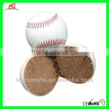 100% Handmade PU Baseball Stuffed with Cork 7.28cm Baseball for Games Baseball Toys