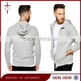 Custom Long Sleeves Hoodie Heavy Zip Up Men Hoodies