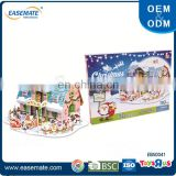 Guangdong wholesale Christmas products 3D puzzle diy toys