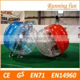 Factory price PVC/TPU body zorb ball,inflatable bubble ball games,inflatable human bubble