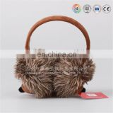 Fashionable cartoon emoji winter warm earmuffs