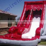 2015 new fashion commercial inflatable pool slide WS046