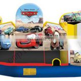 C6 combo, inflatable bouncer with slide, 5 in 1 combo C6032