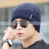 Boys Men Winter Hat Knit Cap Winter Hats for Men Caps Warm Beanie Bonnet Hat Man 2017 Mens Winter Hats