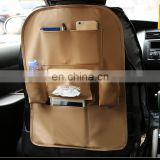 Car BackSeat Multi Pockets Items PU Organizer Bag