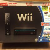 Nintendo Wii With Wii Sports + Wii Sports Resort Black Console