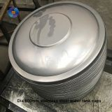Large carbon steel hemispherical head for welding tank