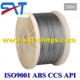 galvanized steel wire rope  with multi layers