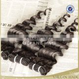 Alibaba express China factory natural black brazilian human hair sew in weave bundles admire brazilian human hair