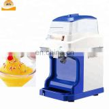 Mini home easy to operate smoothie snow ice shaved crusher with stainless steel knife