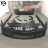 KM For 2013-up F30 F35 TUNING M3 Wide body bumper body kits fenders FRP fiber glass material