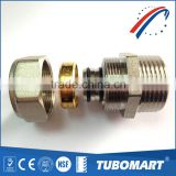 Factory outlet good price 100 series screw fitting brass fitting for PAP pipe                                                                         Quality Choice