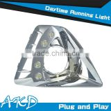 AKD Car Styling Hatch Back Focus2 DRL 2009-2011 Led DRL Focus2 LED Daytime Running Light Good Quality LED Fog lamp