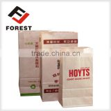 Supplied Square bottom food packaging bag, kraft paper bag , bread paper bag                                                                         Quality Choice                                                     Most Popular