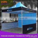 2015 wholesale customized exhibition folding tent pop up folding gazebo with custom logo