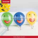 D647 hot sell Clown pattern shaped hook to hang clothes novel design hook and loop hook of ABS