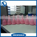 2016 Silicone softcup menstrual cup with valve/menstrual cup soft                                                                         Quality Choice
